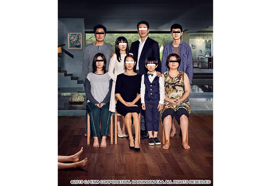 パラサイト 半地下の家族のポスター