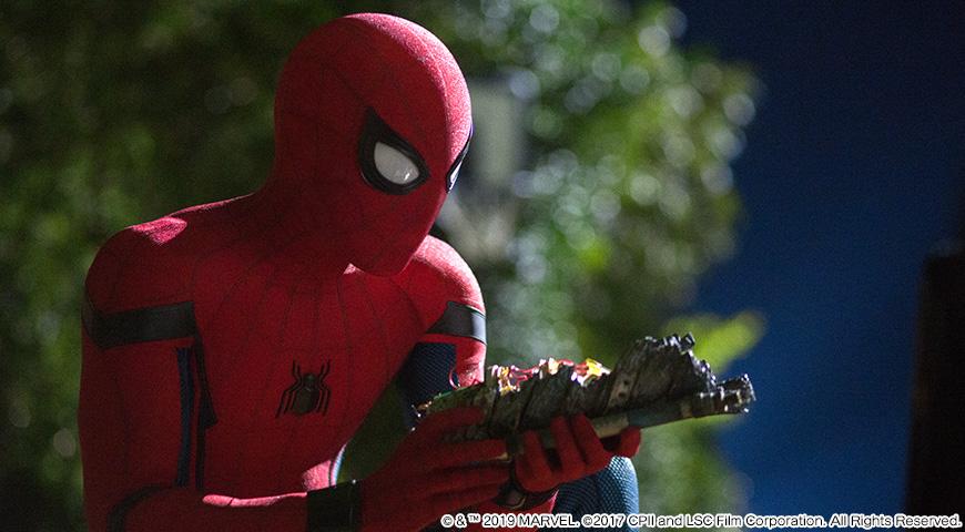 スパイダーマン:ホームカミングのワンシーン