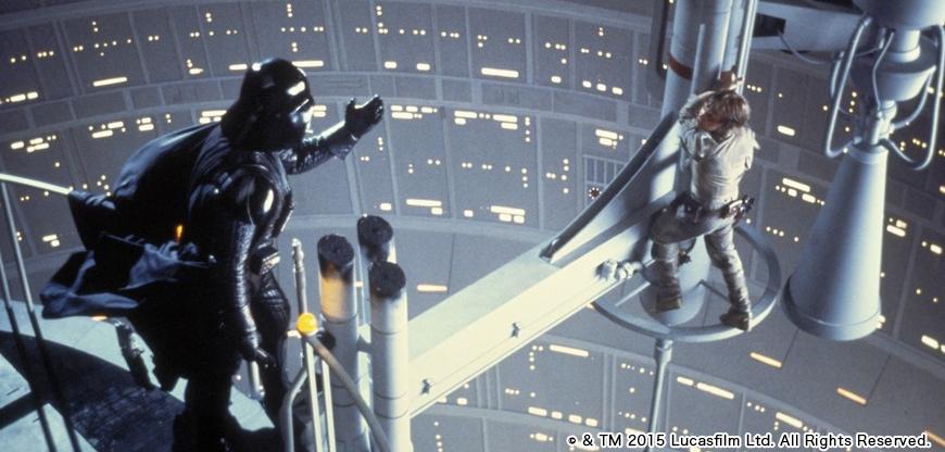 「スター・ウォーズ エピソード5/帝国の逆襲」のワンシーン