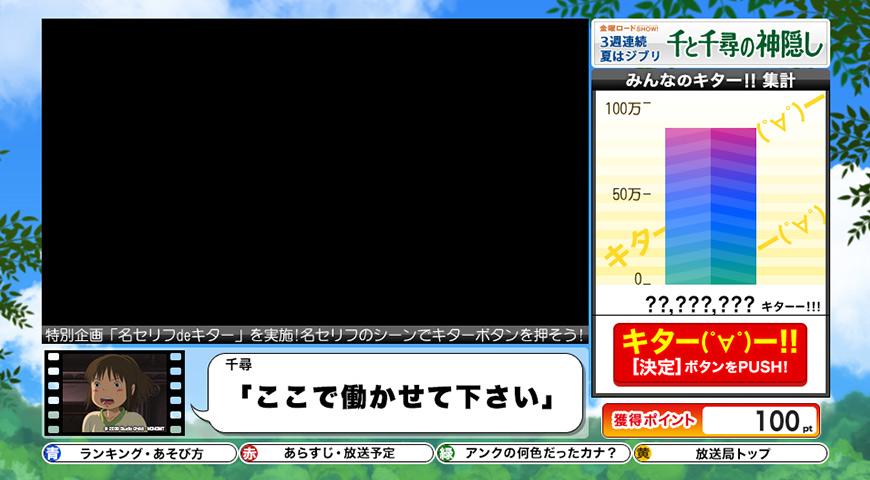 データ放送画面イメージ