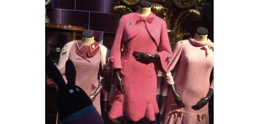 アンブリッジ先生のピンクの衣装