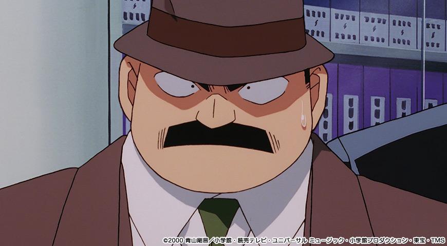 名探偵コナン 瞳の中の暗殺者のワンシーン