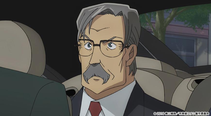 名探偵コナン 純黒の悪夢のワンシーン
