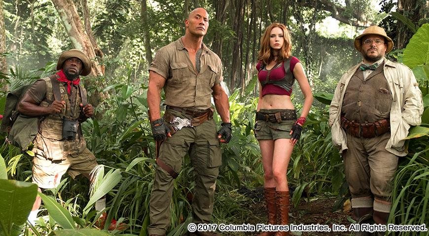 『ジュマンジ/ウェルカム・トゥ・ジャングル』のイメージ