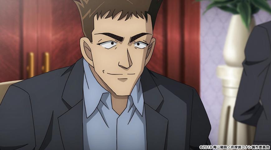 名探偵コナン 紺青の拳のワンシーン