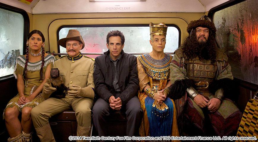 ナイト ミュージアム/エジプト王の秘密のワンシーン